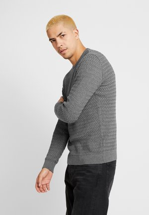 ONECK STRUCTURED - Maglione - dark grey melange