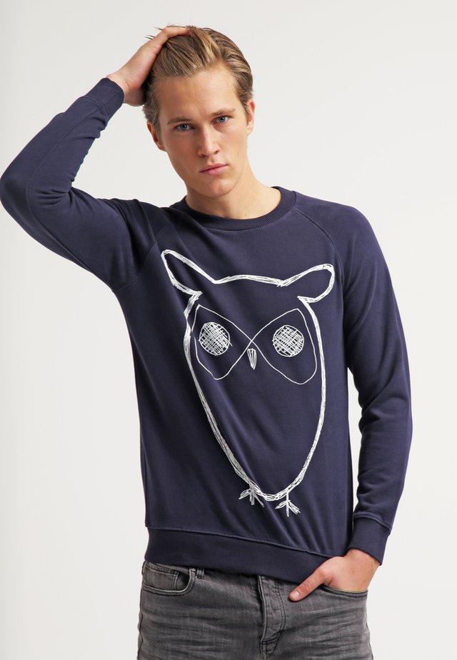 BIG OWL - Collegepaita - navy