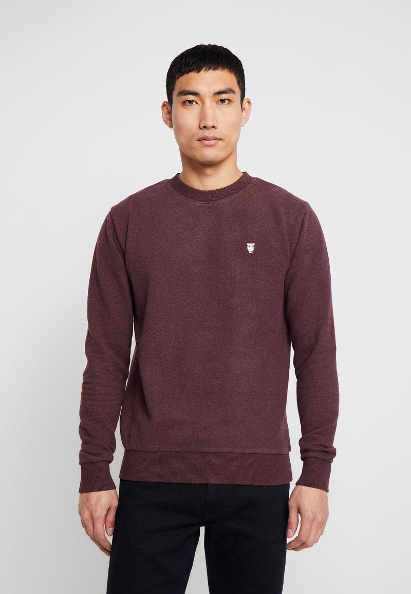 Knowledge Cotton Apparel - BASIC - Sweatshirt - decadent choklade melange