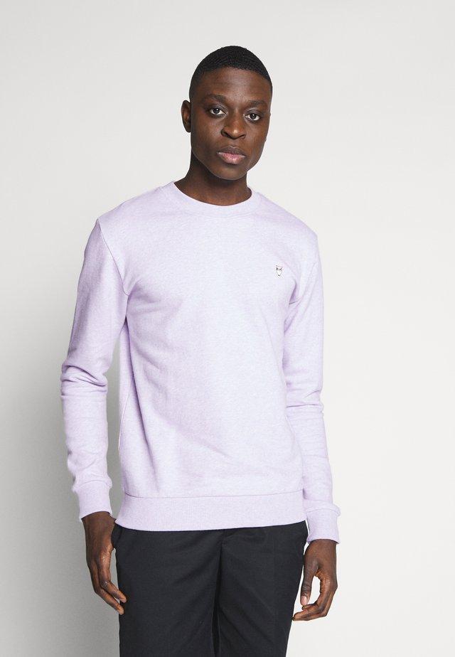 BASIC - Sweater - lavender melange