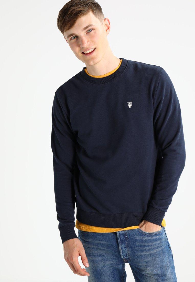 Knowledge Cotton Apparel - BASIC - Sweatshirt - dark blue