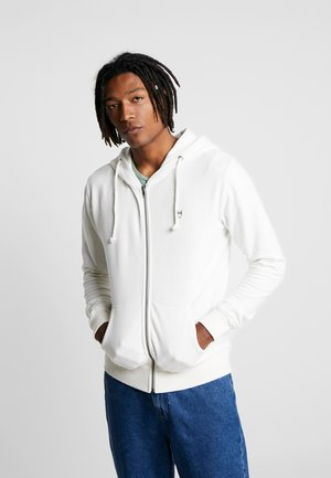 BASIC  - Zip-up hoodie - star white