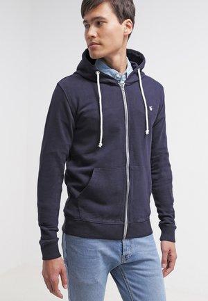 BASIC  - Mikina na zip - dark blue
