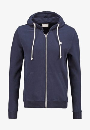 BASIC  - Mikina na zip - dark blue