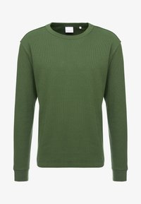 Knowledge Cotton Apparel - RIBBING  - Mikina - green forest - 4