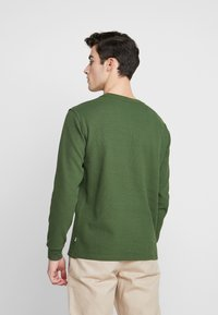 Knowledge Cotton Apparel - RIBBING  - Mikina - green forest - 2