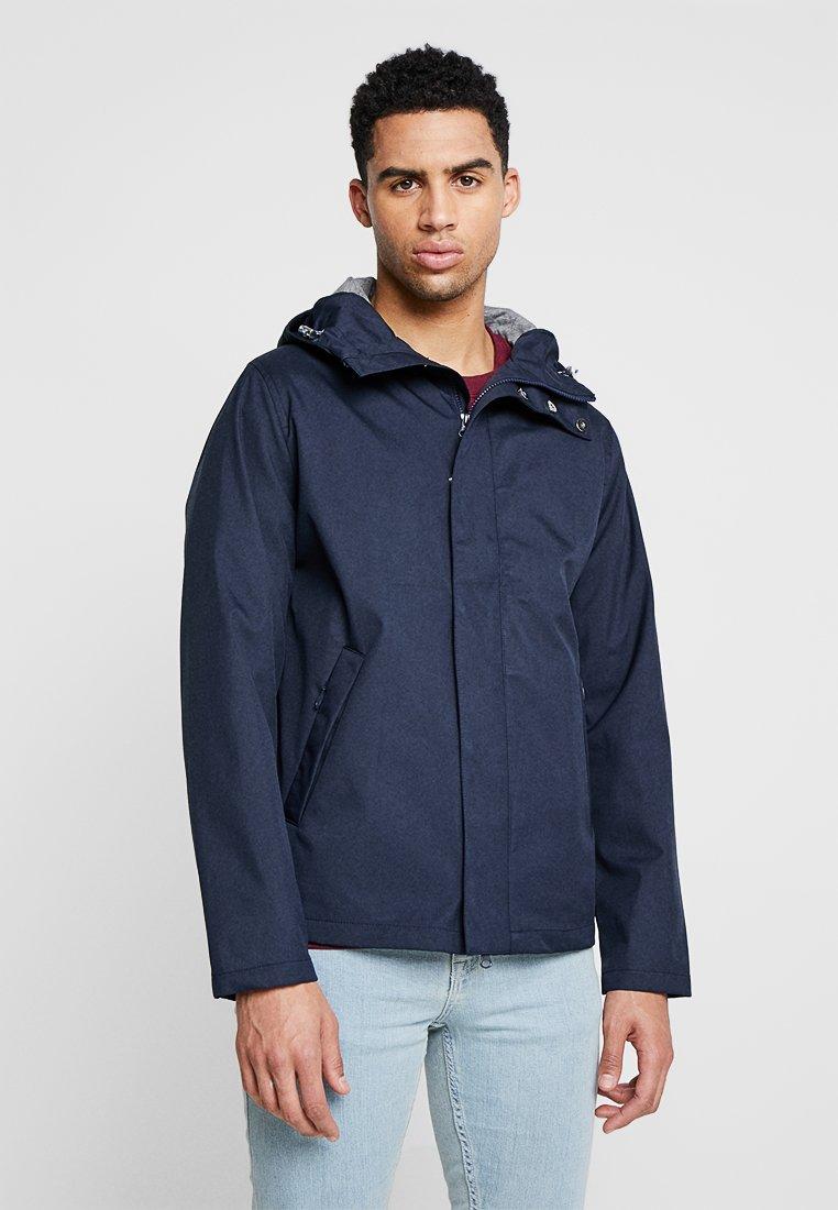 Knowledge Cotton Apparel - HOOD JACKET - Summer jacket - total eclipse