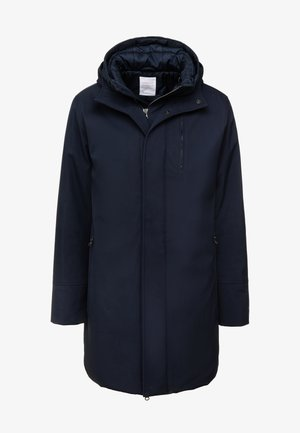 LONG SOFT SHELL JACKET  - Winter coat - total eclipse
