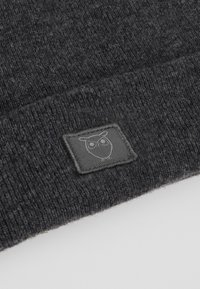 Knowledge Cotton Apparel - BEANIE - Beanie - dark grey