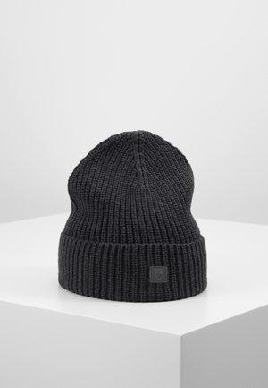 RIBBING HAT - Čepice - dark grey