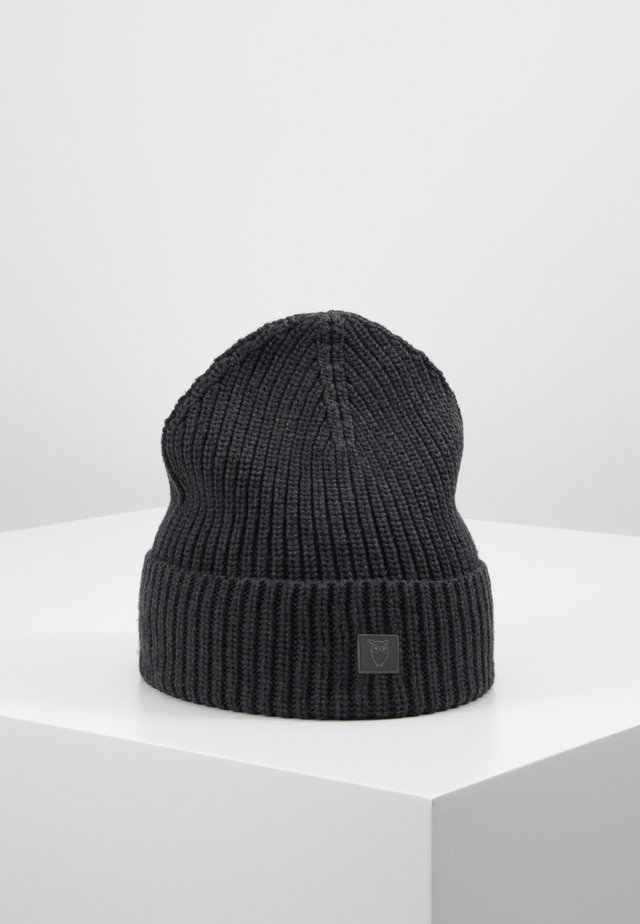 RIBBING HAT - Mütze - dark grey