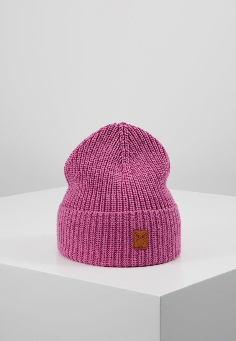 Knowledge Cotton Apparel - RIBBING HAT - Čepice - pink
