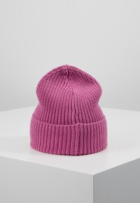 Knowledge Cotton Apparel - RIBBING HAT - Mütze - pink - 2