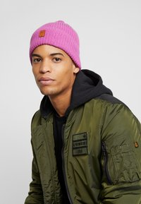 Knowledge Cotton Apparel - RIBBING HAT - Mütze - pink - 1