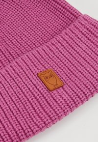 Knowledge Cotton Apparel - RIBBING HAT - Mütze - pink - 5
