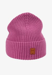 Knowledge Cotton Apparel - RIBBING HAT - Mütze - pink