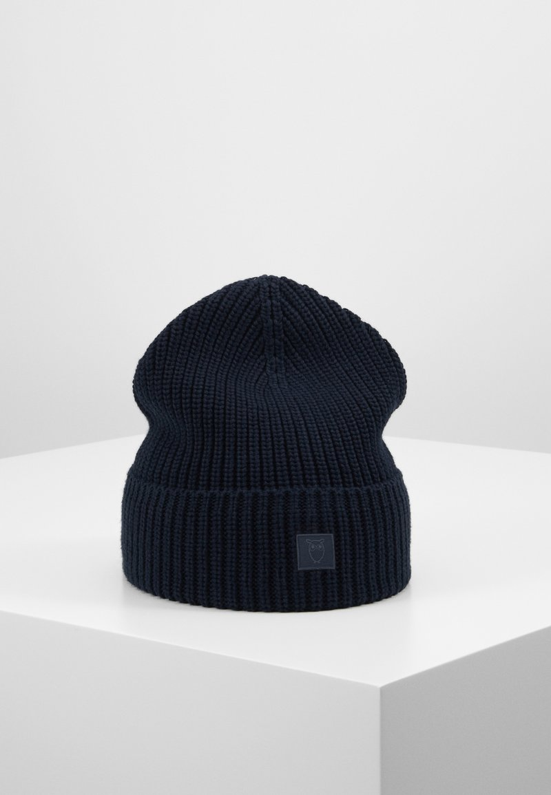 Knowledge Cotton Apparel - RIBBING HAT - Čepice - dark blue