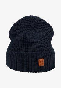 Knowledge Cotton Apparel - RIBBING HAT - Čepice - dark blue - 4