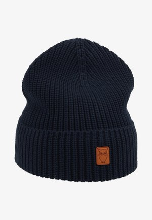 RIBBING HAT - Beanie - dark blue