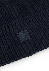 Knowledge Cotton Apparel - RIBBING HAT - Čepice - dark blue - 5