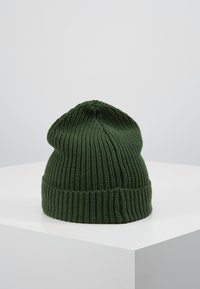 Knowledge Cotton Apparel - RIBBING HAT - Muts - dark green