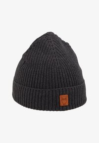 Knowledge Cotton Apparel - RIBBING HAT SHORT - Čepice - dark grey - 1