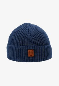 Knowledge Cotton Apparel - RIBBING HAT SHORT - Beanie - blue - 1