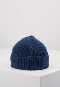 Knowledge Cotton Apparel - RIBBING HAT SHORT - Beanie - blue - 3