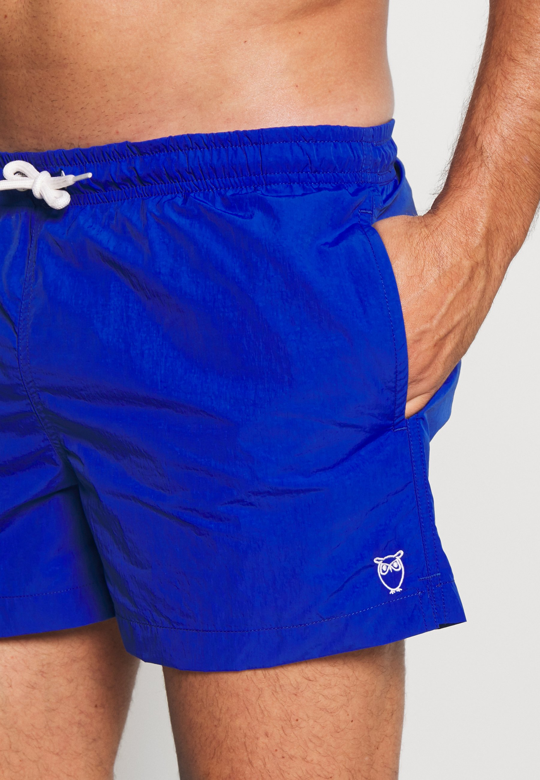 Knowledge Cotton Apparel Bay Owl - Surfshorts Blue