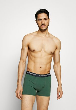 MAPLE UNDERWEAR 3 PACK - Shorty - black/green/white