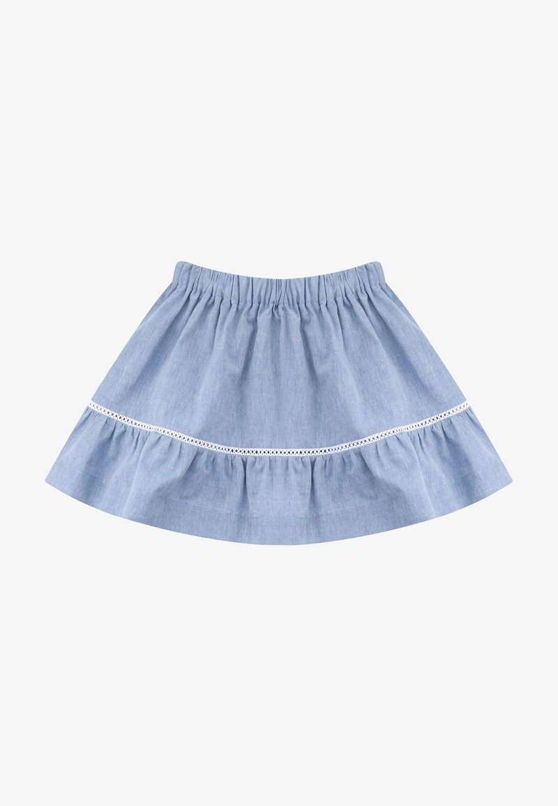 Knot - A-line skirt - medium denim