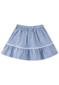Knot - A-line skirt - medium denim - 1