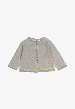 HEARTS  - Cardigan -  grey