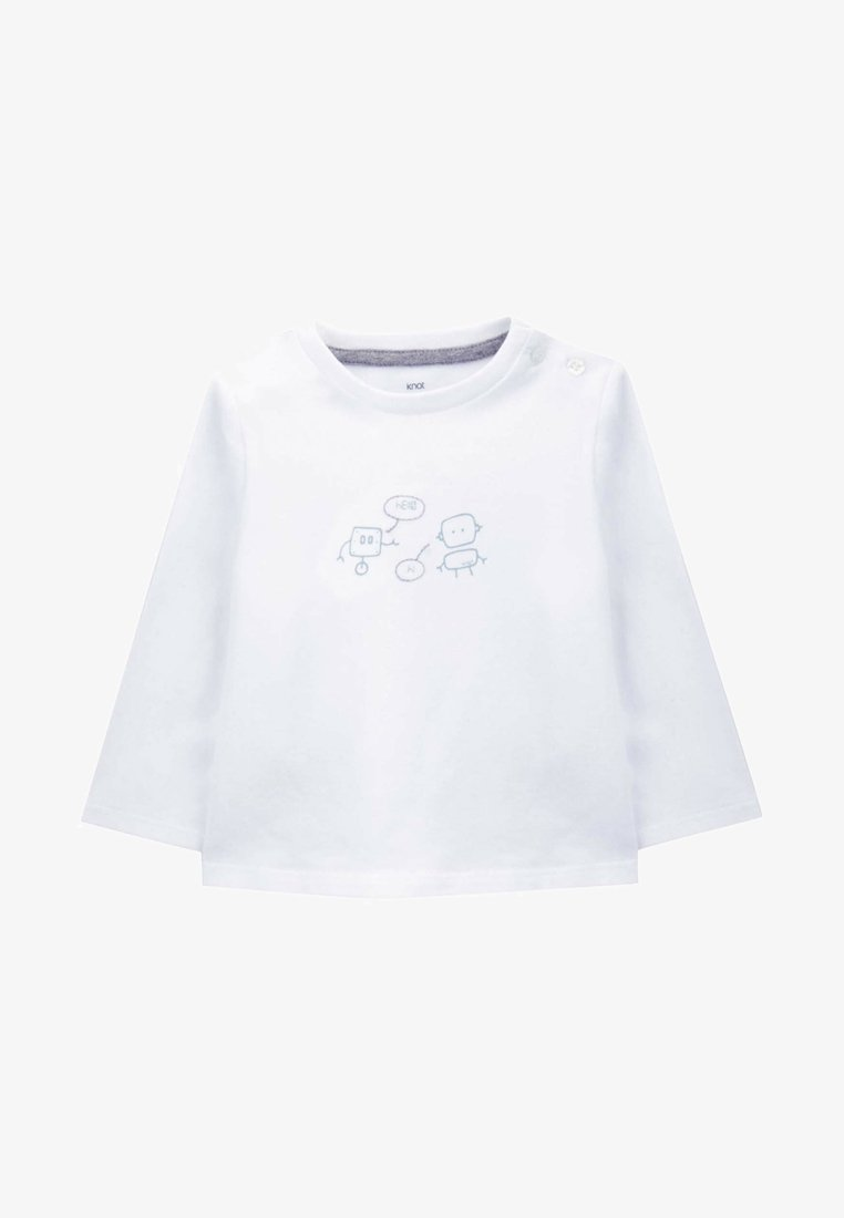 Knot - Long sleeved top - white