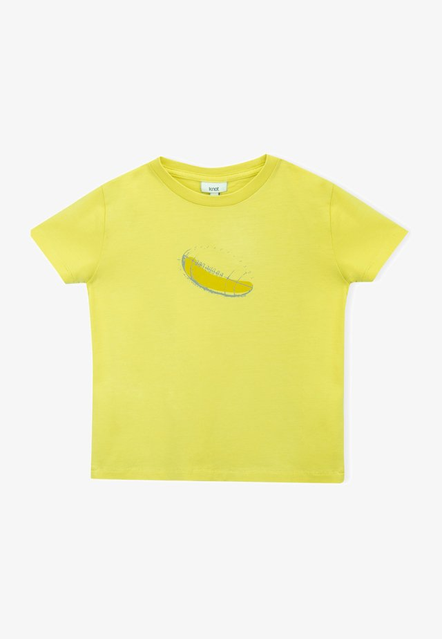 RUGBY  - T-shirt print - lime