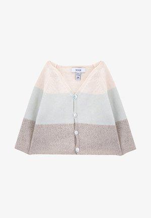 Vest - beige/lightblue/brown melange