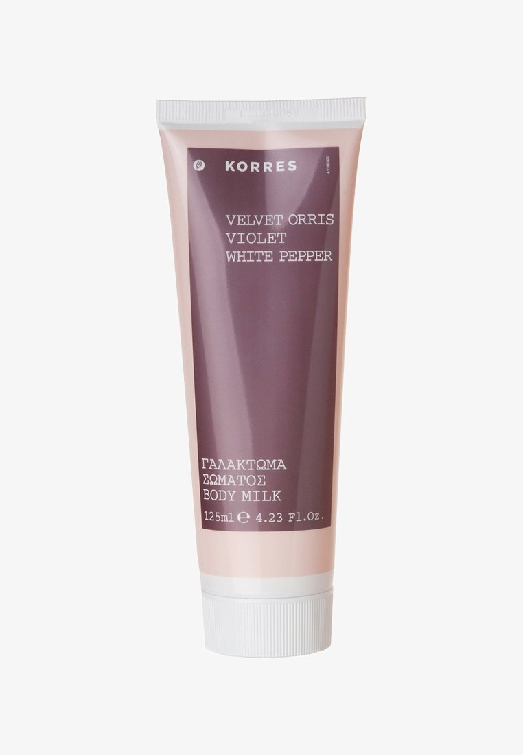 Korres - VELVET ORRIS VIOLET WHITE PEPPER BODYMILK 125ML - Moisturiser - neutral