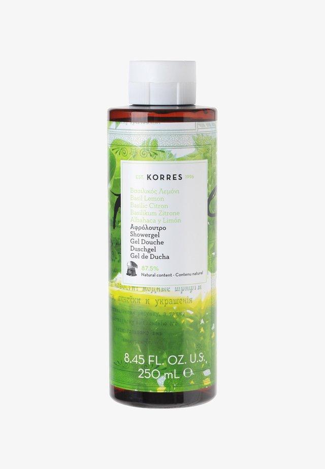 BASIL LEMON SHOWERGEL - Shower gel - -