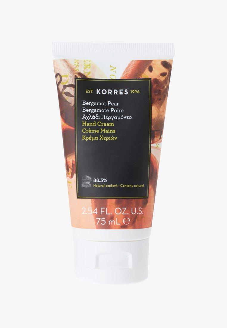 Korres - BERGAMOT PEAR HAND CREAM 75ML - Hand cream - neutral