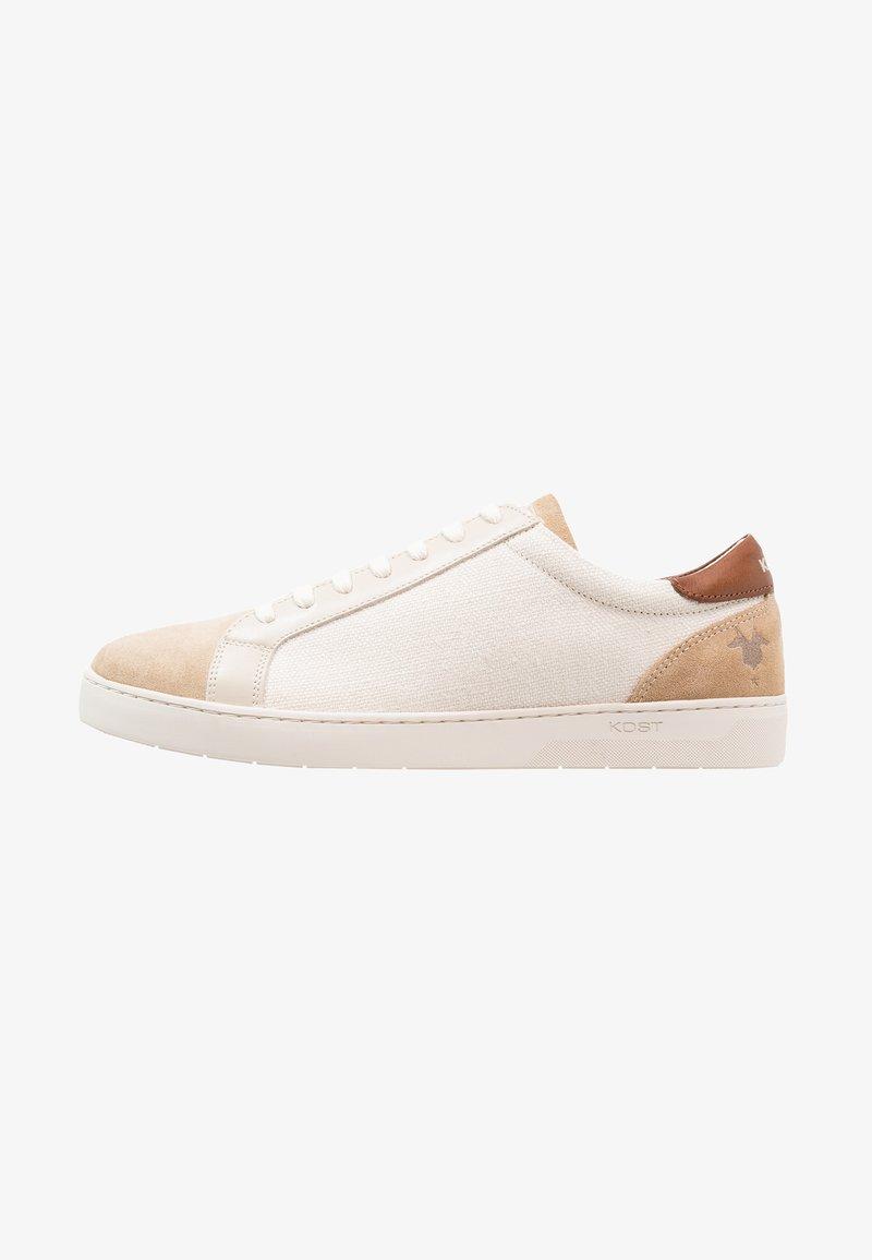 Kost - CYCLISTE - Sneakers laag - ecru/beige/cognac
