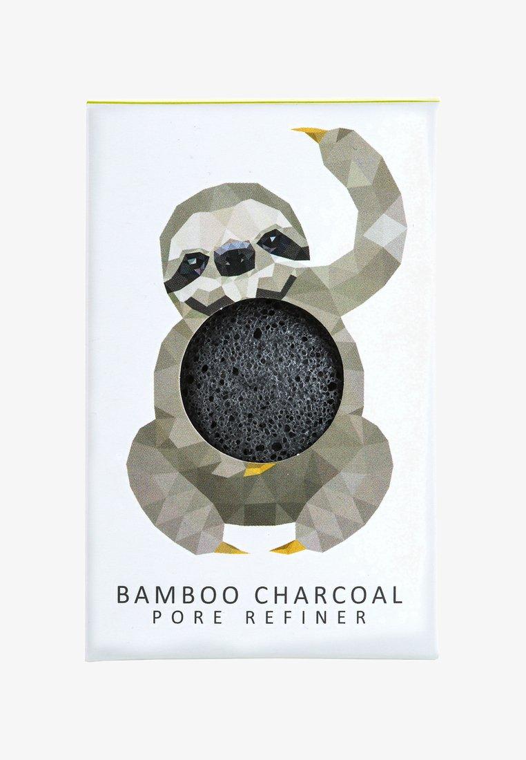Konjac Sponge - MINI SPONGE GIFT BOX - Lichaamsverzorging - bamboo charcoal/rainforest sloth