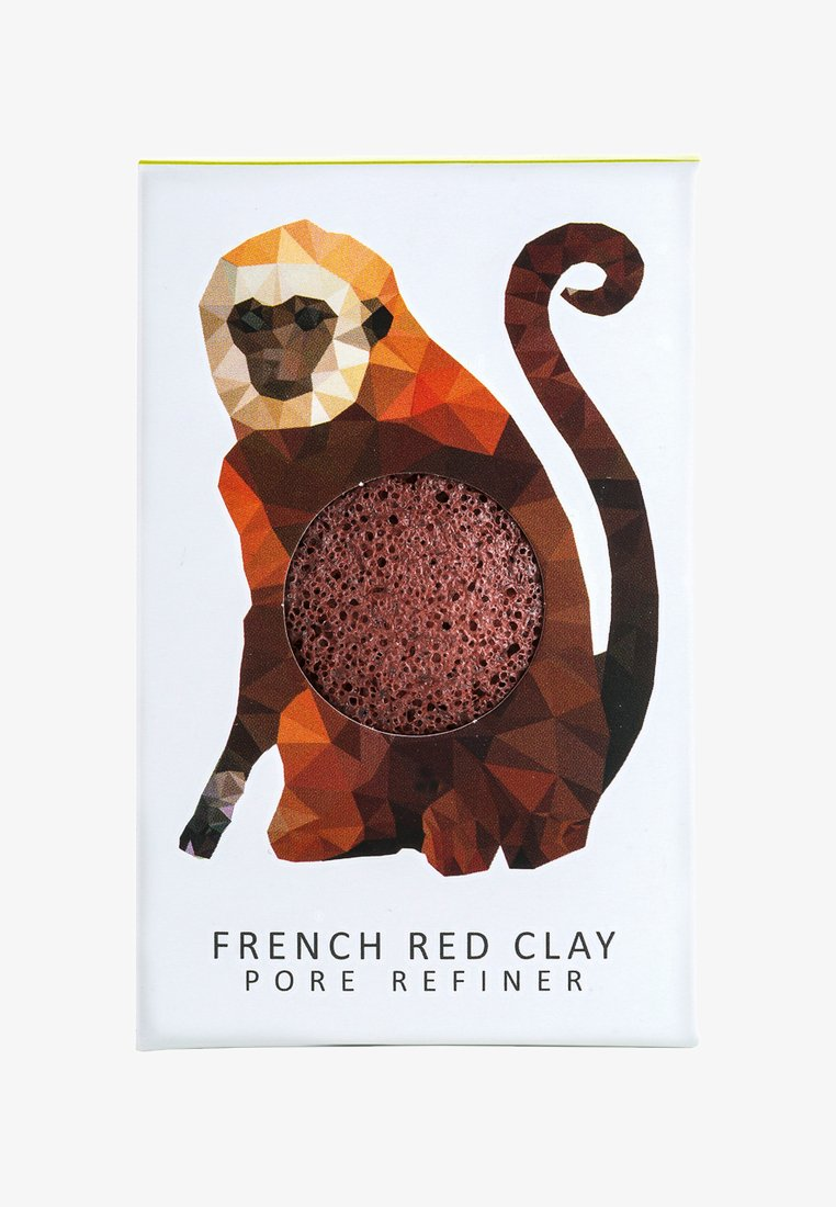 Konjac Sponge - MINI SPONGE GIFT BOX - Bath & body - red clay/rainforest monkey