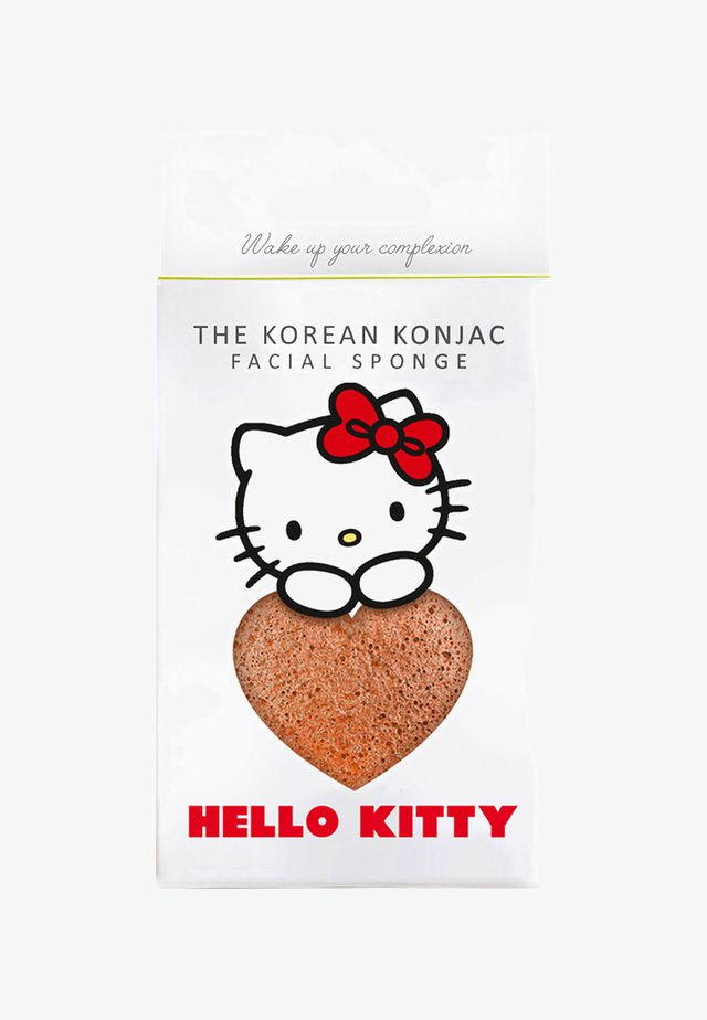 HELLO-KITTY KONJAC SPONGE SET  - Skincare tool - pink clay