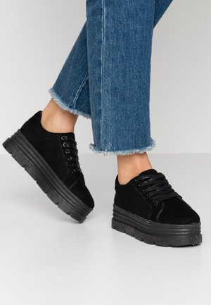 VEGAN - Baskets basses - black