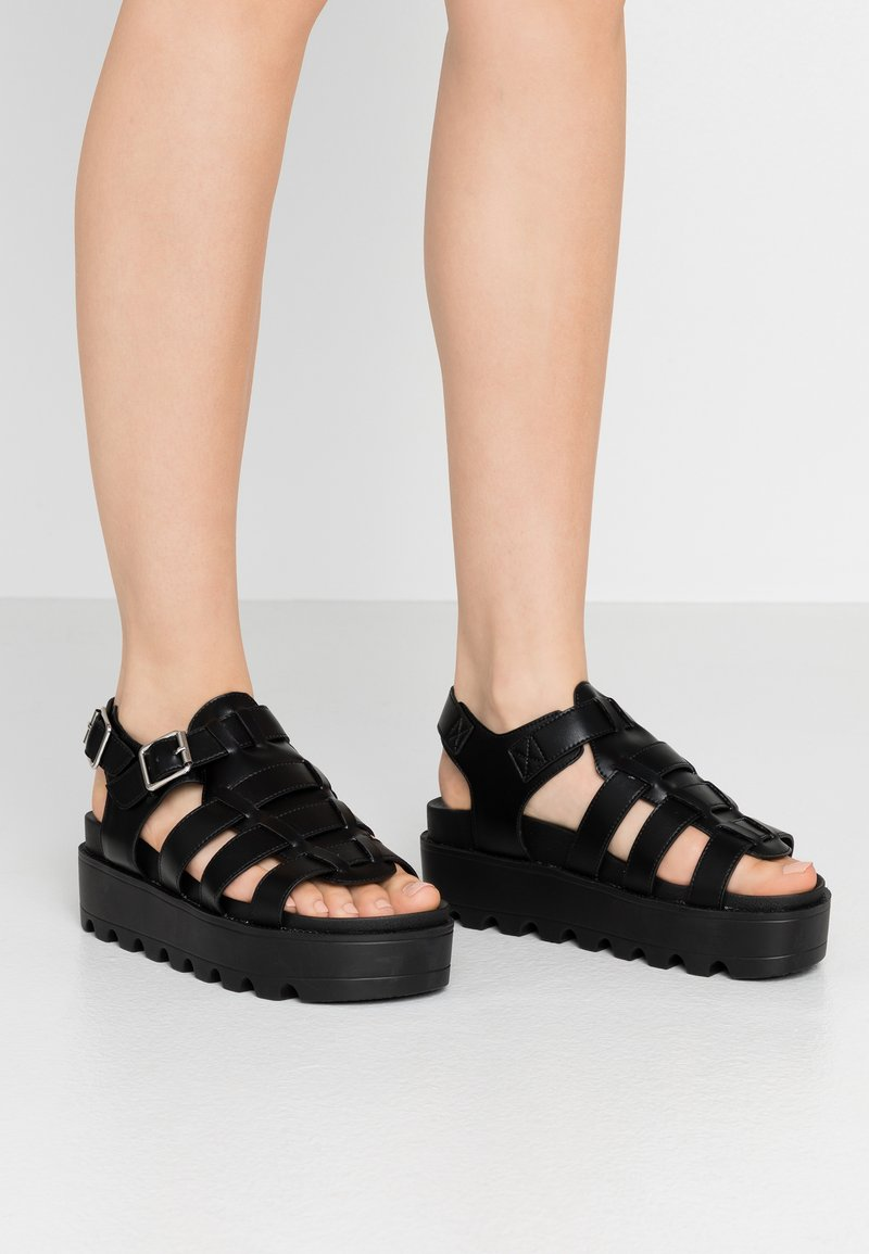 Koi Footwear - VEGAN - Platform sandals - black