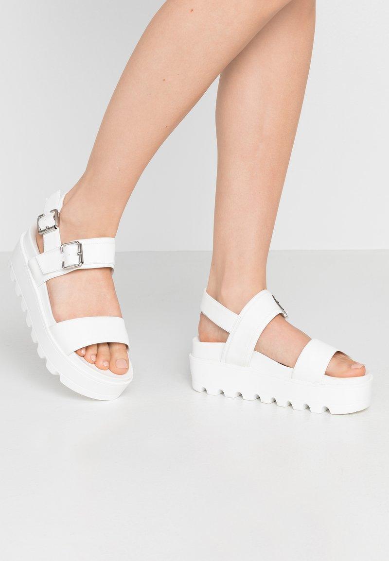 Koi Footwear - VEGAN  - Sandály na platformě - white