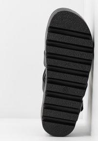 Koi Footwear - VEGAN - Platform sandals - black - 6
