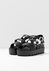Koi Footwear - VEGAN  - Platform sandals - black - 4