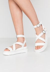 Koi Footwear - VEGAN  - Platform sandals - white - 0