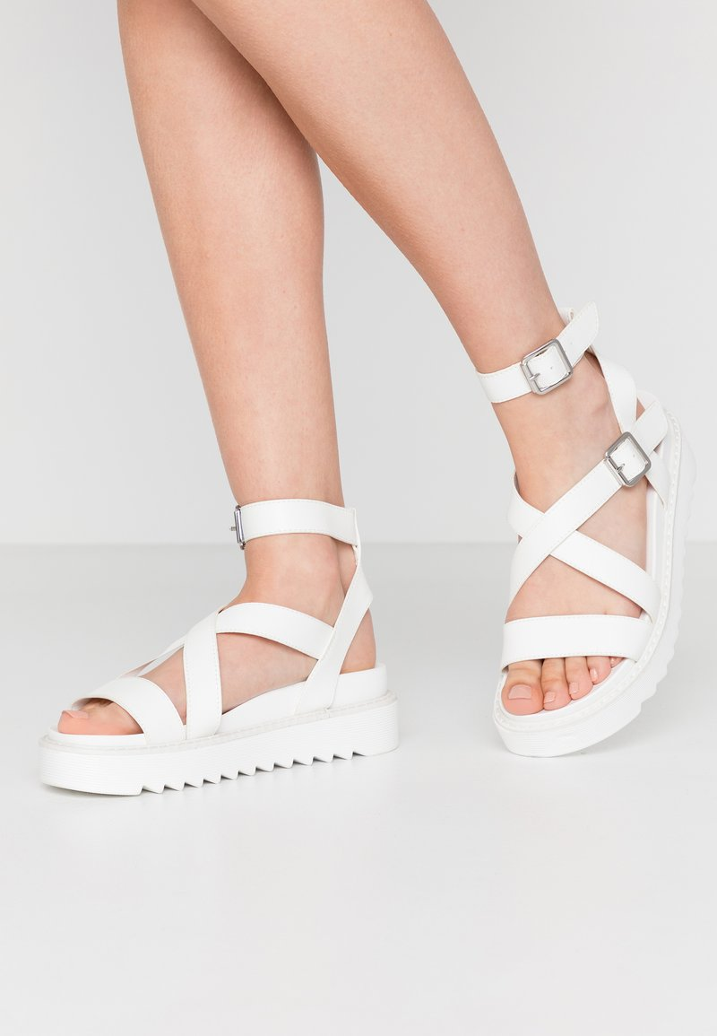Koi Footwear - VEGAN  - Platform sandals - white